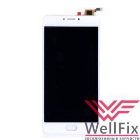 Дисплей Meizu M3 Note L681H с тачскрином белый