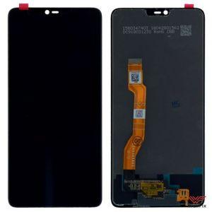 Изображение Дисплей для OPPO F7 в сборе черный