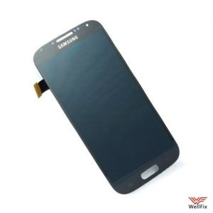 Дисплей Samsung Galaxy S4 GT-I9500 с тачскрином темно синий