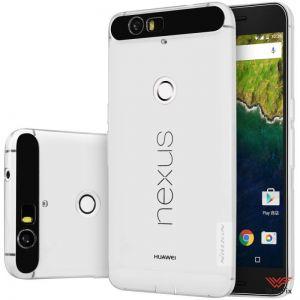 Чехол Huawei Nexus 6P белый (Nillkin, силикон)