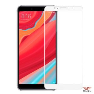 Изображение Защитное 3D стекло для Xiaomi Redmi S2 белое