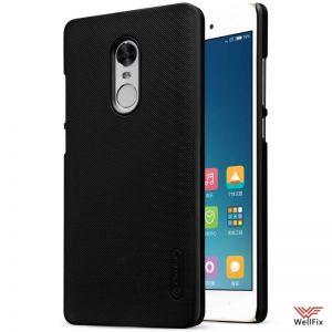 Изображение Пластиковый чехол для Xiaomi Redmi Note 4X черный (Nillkin)