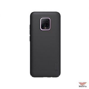Изображение Пластиковый чехол для Xiaomi Redmi 10X черный (Nillkin)