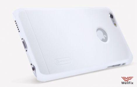 Чехол Apple iPhone 6, 6s белый (Nillkin, пластик)