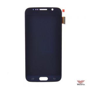 Дисплей Samsung Galaxy S6 SM-G920F с тачскрином черный