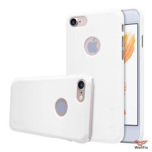 Изображение Пластиковый чехол для iPhone 7 белый (Nillkin)