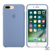 Чехол для Apple iPhone 7 Plus Silicone Case голубой