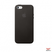 Чехол для Apple iPhone 5, 5s Silicone Case черный